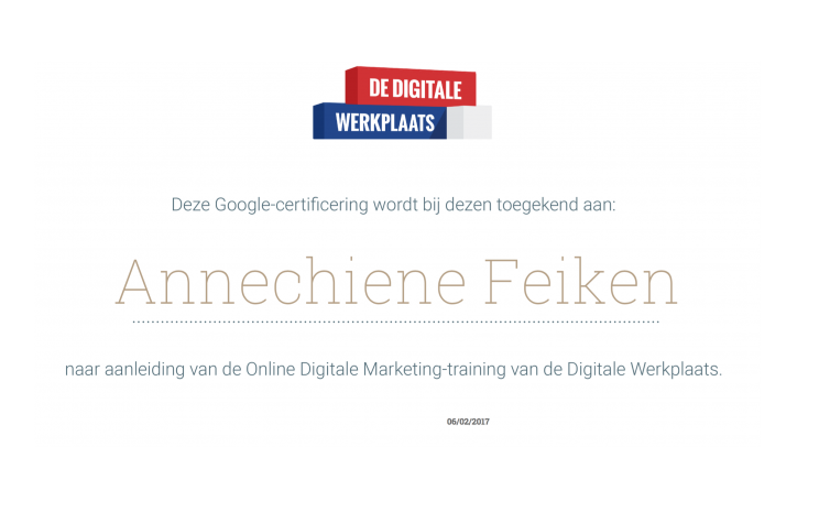 cursus digitale online marketing